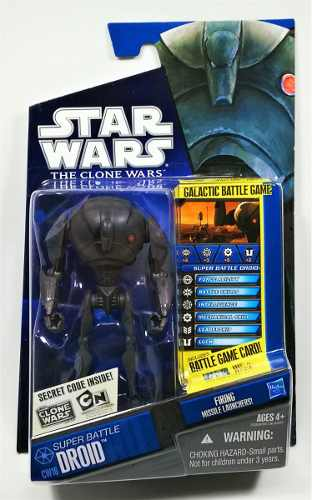 Star Wars Clone Wars Super Battle Droid Cw16 Nuevo Legacyts