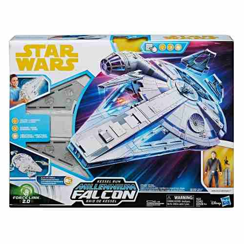 Star Wars Force Link 2.0 Run Millennium Falcon Con Hasbro