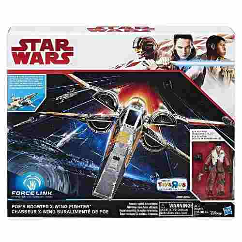 Star Wars Hasbro Poe Dameron X Wing Force Link 2.0