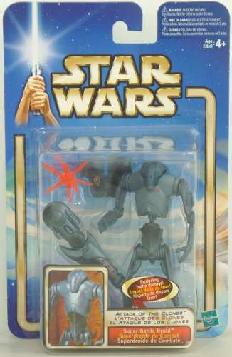Super Battle Droid Star Wars Saga Collection