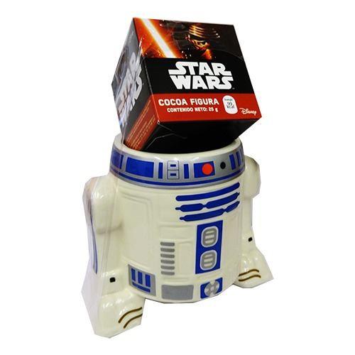 Taza Ceramica Star Wars 3d Dulces R2d2