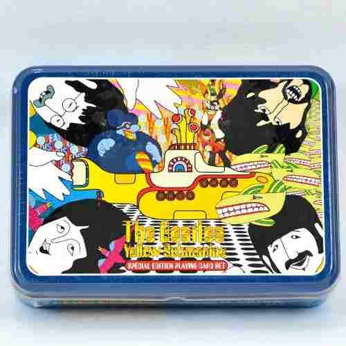 The Beatles Set De Cartas Poker Importado Y 100% Original 2