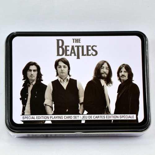 The Beatles Set De Cartas Poker Importado Y 100% Original