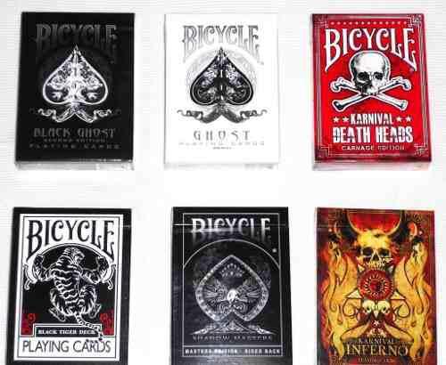 Un Mazo De Cartas De Coleccion Bicycle A Elegir Entre 6 Mods