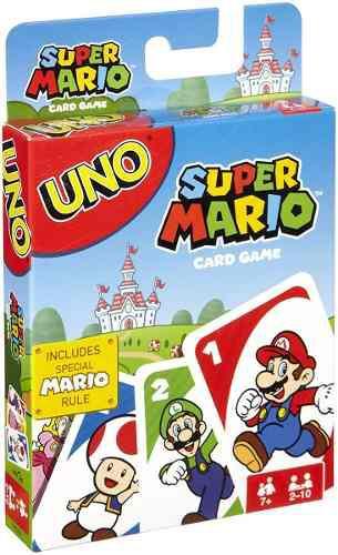 Uno Edición Super Mario Juego De Cartas Completamente Nuevo