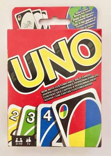 Uno Juego De Cartas Original De Mattel Nuevo, Sellado