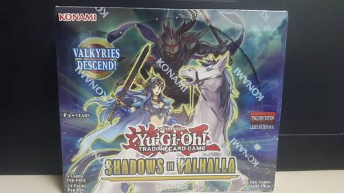 Yu Gi Oh Trading Card Game Shadows In Valhalla Booster Box