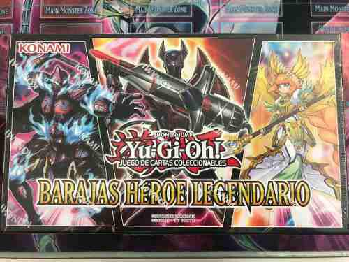 Yu-gi-oh! Legendary Hero Decks - Envio Inmediato -
