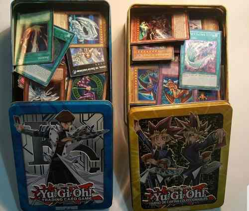 Yugioh Lata 100 Cartas (10 Foils)+obelisco Secret