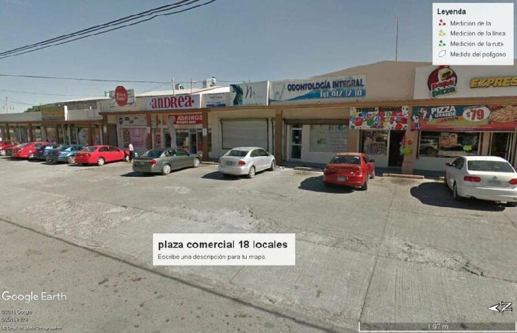 locales en venta 18 rentados plaza comercial