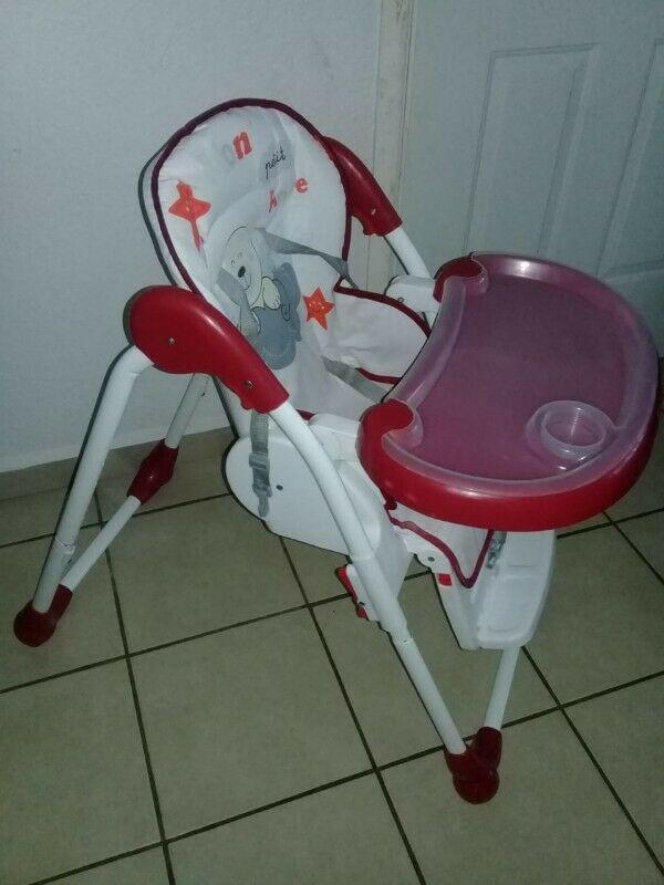silla de bebe para comer