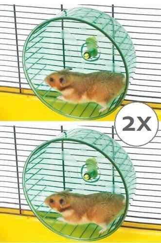 2 Ruedas Ejercicio Hamster Savic Rolly Large 18 Cm Diámetro