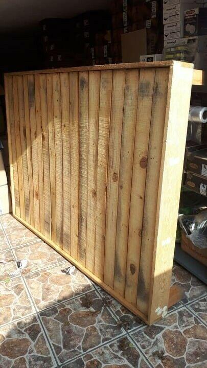 Base de madera para colchón matrimonial