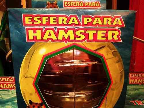Esfera Para Hamster Estandar 18cm