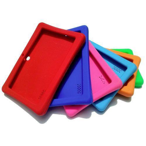 Fonda Protectora De Silicon Para Tablet De 7
