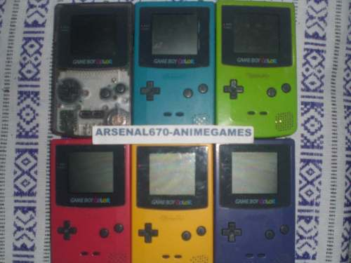 Game Boy Color 1 Consola Con Dos Juegos A Gbc