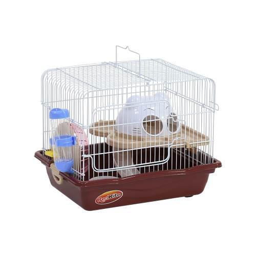 Jaula Fresno Vii P/hamster Con Rueda Y Bebedero