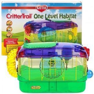 Jaula Hamster Crittel Trail Subasto Precio A Tratar (ofrezca