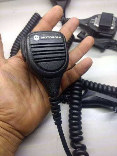 Microfono De Solapa Motorola Digital Dgp  Parlante Apx
