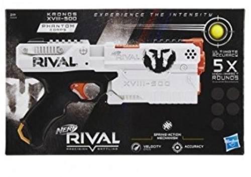 Nerf Kronos Xviii-500 Rival Equipo Fantasma Hasbro
