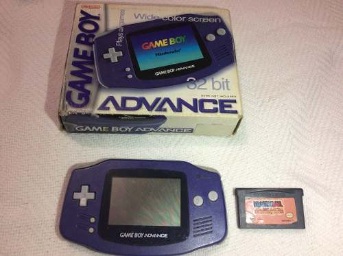 Nintendo Game Boy Advance Con Caja Original Y Un Juego