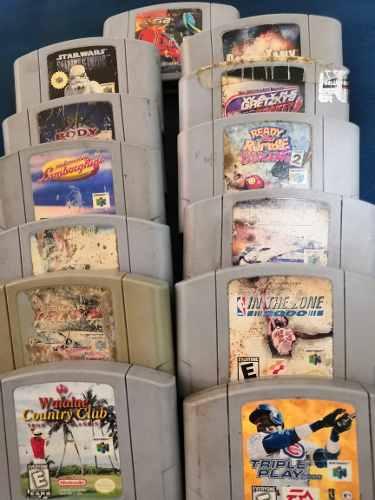 Paquete De Juegos Nintendo 64,n64. Envio Gratis!