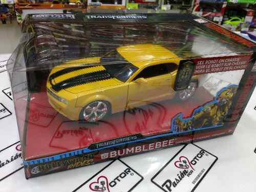 1:24 Chevrolet Camaro 2006 Bumblebee Transformers Jada Ccaja
