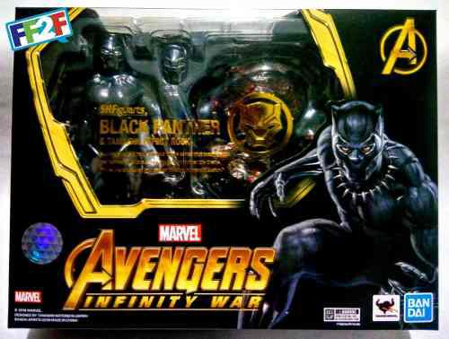 Black Panther Tamashii Efect Figuarts Avengers Infinity War