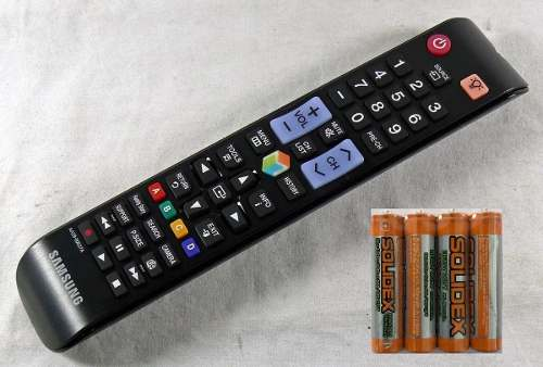 Control Remoto Samsung Smart Hub Led Tv Hd 3d+4 Pilas Gratis