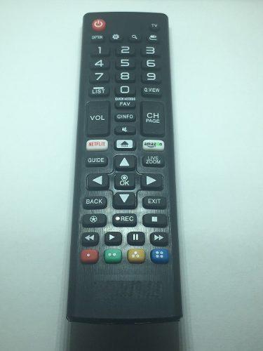 Control Remoto Smart Para Tv Lg Pilas Gratis