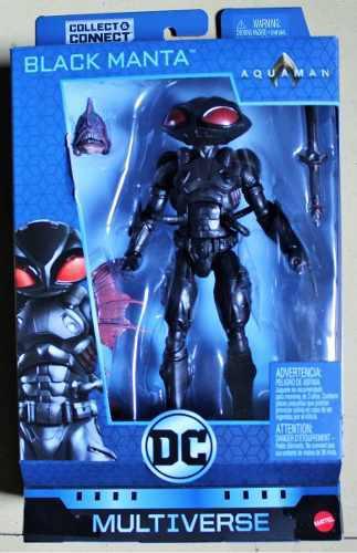 Dc Multiverse Black Manta Aquaman 2018 Baf Trench Warrior