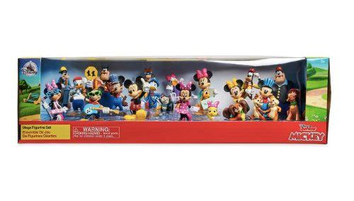 Disney Store Mickey Mouse Mega Set 20 Figuras 2018 Original