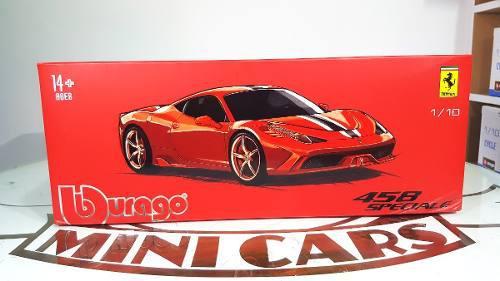 Ferrari Exclusive 458 Speciale 1/18 Bburago Autos A Escala