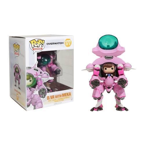 Figura Dva Funko Pop Games Overwatch D. Va Meka 15,2 Cm