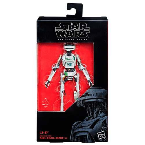 Figura L3-37 6 Pulgadas The Black Series Star Wars Hasbro