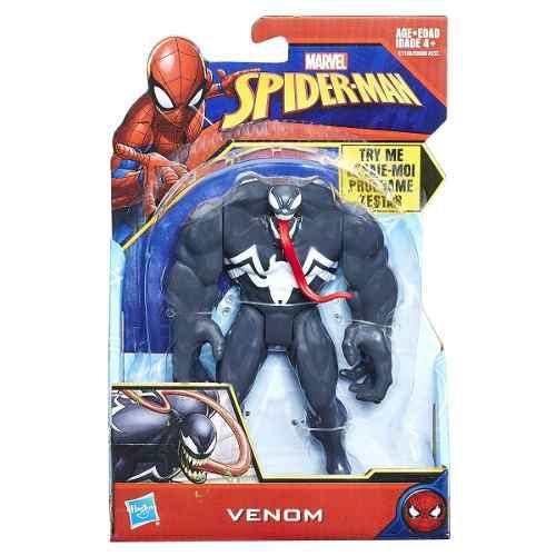 Figura Marvel Spiderman Quick Shot 13.5cm Venom