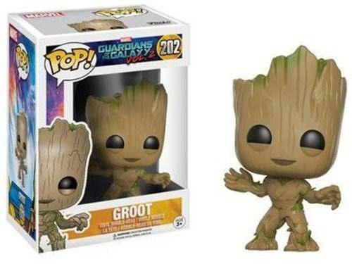 Funko Pop Marvel Groot Guardianes De La Galaxia 2 Original