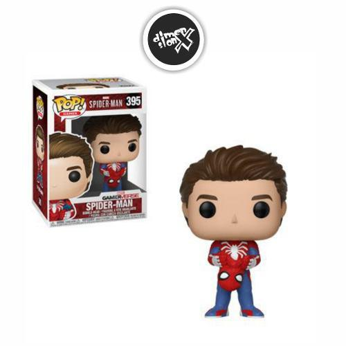 Funko Pop Spider Man Ps4 Unmasked Marvel Gamerverse