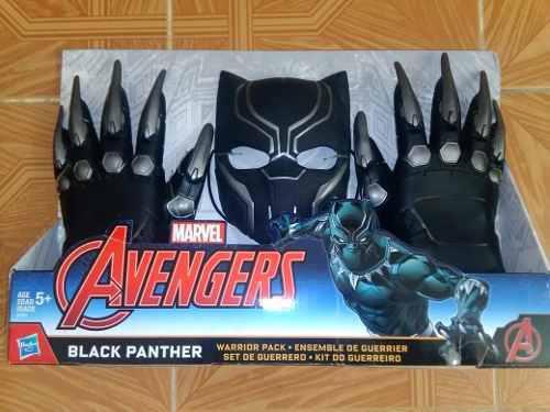 Guante Y Mascara Black Panther Pantera Negra Guantes Garras