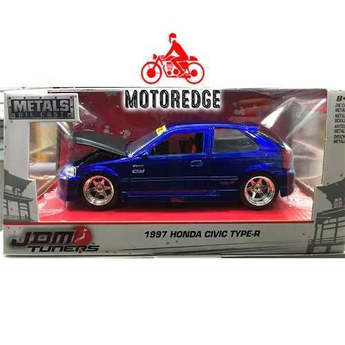 Honda Civic Ek Type R 1997 Azul Jada 1/24 Nuevo Jdm Tuners