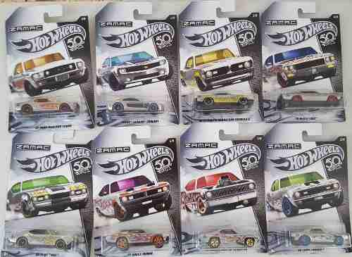Hot Wheels 50 Aniversario Zamac Cada Uno