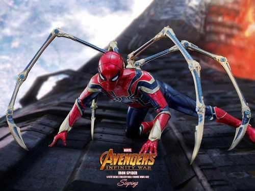 Iron Spider Hot Toys Disponible Avengers 3