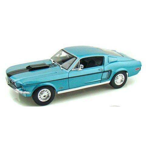 Maisto Escala 1/18 1968 Mustang Gt Cobra Jet