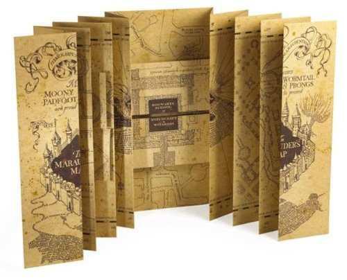 Mapa Del Merodeador Harry Potter Chico ¡envío Gratis!