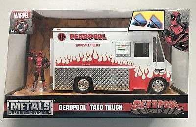 Marvel Deadpool Taco Truck Chimichanga 1/24 Jada