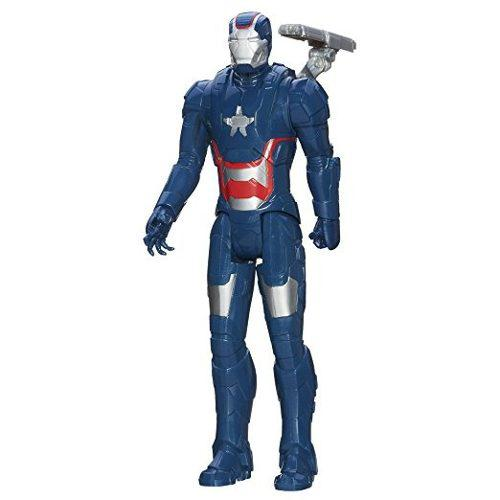 Marvel Iron Man Figura De Acción De Iron Patriot 3 Titan
