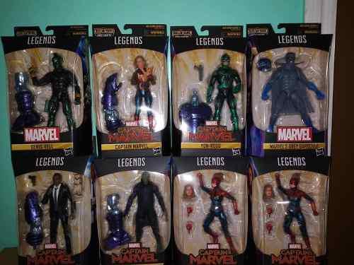 Marvel Legends Captain Marvel Wave 1 Kree Sentry Baf Set D 7