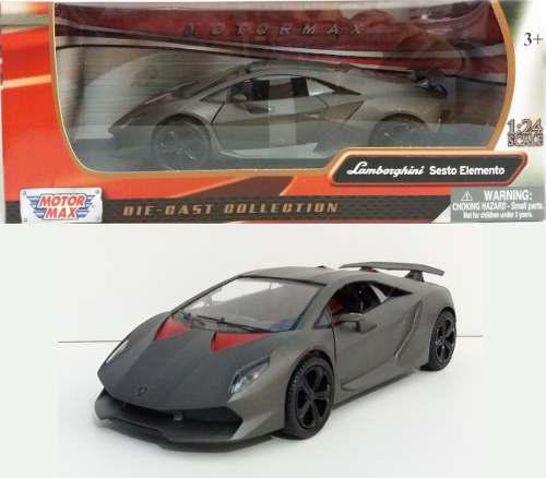 Motor Max 1/24 Lamborghini Sesto Elemento