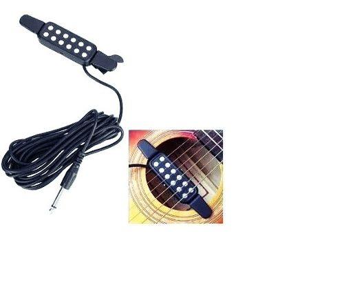 Pastilla Guitarra Acústica Electro Bajo Sexto Quinto Nylon