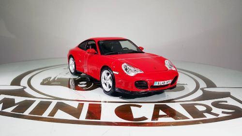 Porsche 911 Carrera 4s Rojo 1/18 Maisto Autos Escala Metal